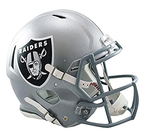 Riddell NFL Las Vegas Raiders Speed Authentic Football Helmet