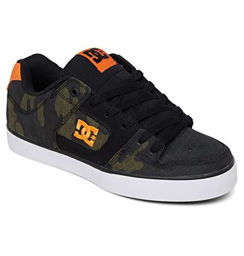 DC Shoes Pure TX - Leather Shoes for Men - Low Tops - Männer - EU 44 - Grün