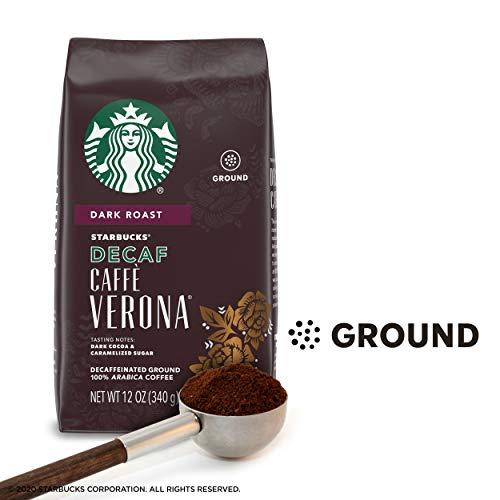 Starbucks Decaf Ground Coffee — Caffè Verona — 100% Arabica — 1 bag (12 oz.)