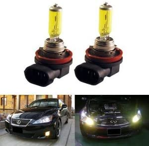 GOLDEN YELLOW 100w ONE PAIR XENON H11 Beam Milwaukee Mall light FILLED LOW GAS famous
