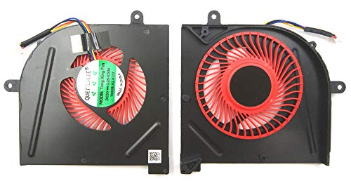 LPH Replacement CPU Fan for MSI GS63VR GS63VR-6RF GS63VR-7RF GS63VR-Stealth-Pro GS73VR GS63VR GS73VR-6RF GS73VR-7RF GS73VR-Stealth-Pro - laptopparthub BS5005HS-U2F