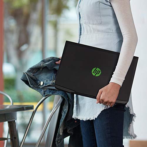 HP Pavilion Gaming 15.6-Inch Micro-EDGE Laptop, Intel Core i5-9300H Processor, NVIDIA GeForce GTX 1650 (4 GB), 8 GB SDRAM, 256 GB SSD, Windows 10 Home (15-dk0020nr, Shadow Black/Acid Green)