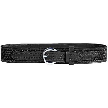 Black Safariland 146 Border Patrol Style Duty Belt Basketweave for 34-Inch Waist
