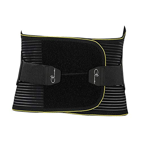 ZFF Soporte Lumbar Cinturón, Doble Ajustable Inferior Espalda Apoyo Cinturón para...