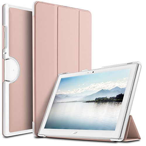 cover tablet acer iconia one 10 IVSO Acer Iconia B3-A40 Cover Custodia - Slim Smart Cover Custodia Protettiva in Pelle PU per Acer Iconia One 10 B3-A40 Tablet