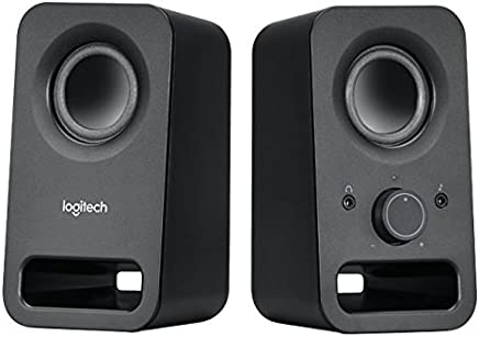 Logitech 980-000802 Multimedia Speakers Z150 with Stereo Sound for Multiple Devices, Black