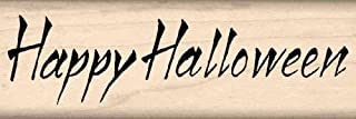 Stamps by Impression Happy Halloween Rubber Stamp