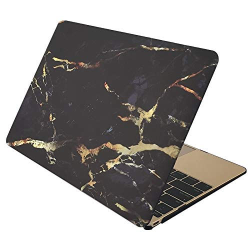 CAIFENG Phone Cover Case Marble Patterns Apple Laptop Water Decals PC Protective Case for MacBook Air 13.3 inch Protective Shell (Color : Color3)