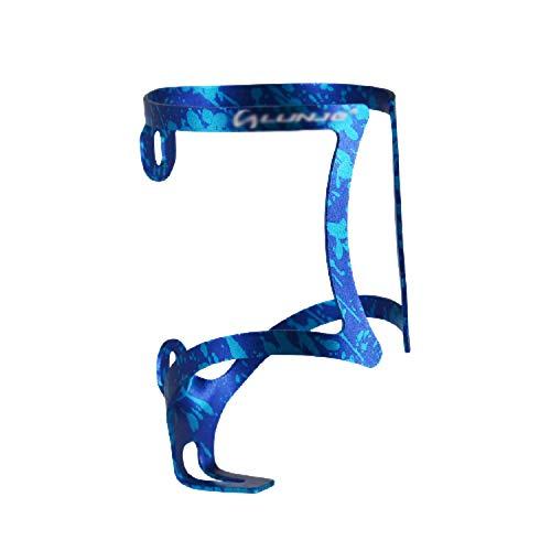 ZMYY Porte-bouteille pour vélo de montagne, poussettes et fauteuils roulants avec deux vis, 22 g, bleu