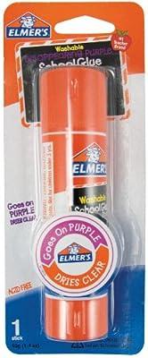 Elmer's Jumbo Disappearing Purple School Glue Stick, 1.4 Ounces