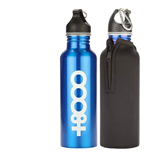 +8000 Bot18001 20I (Pack 12) Botella, Unisex Adulto, Azul Real/Rojo Real/Rojo, One SIZECA