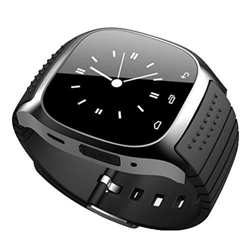 M26 Pulsera Inteligente Smart Wireless Hombres y Mujeres Podómetro Deportivo Wechat Weather Ritmo cardíaco Reloj de monitoreo del sueño (Negro M26)
