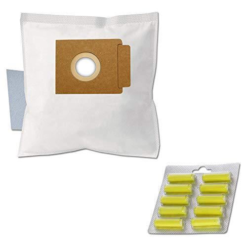 PRODUCT2SELL 10 ambientadores + 10 bolsas para aspiradora adecuadas para UFESA MAT 1300, Quigg Varia R-Control, BS 59/0, BS 59/1, Topo ECO2 1600 W, compatible con Swirl EIO80 / Menalux 6002