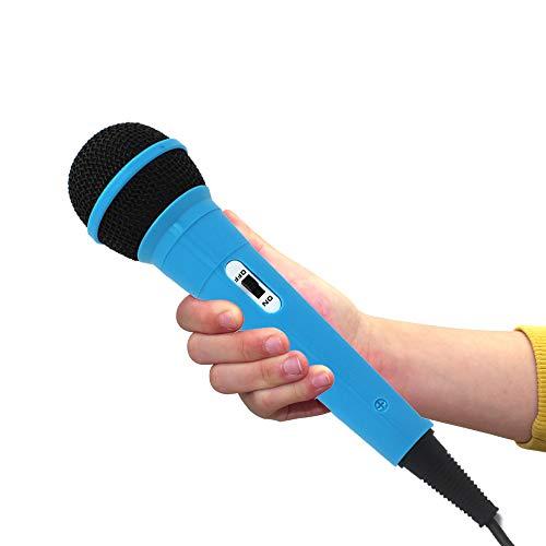 Wired Microphone for Kids Karaoke Toy Handheld Dynamic Microphone Children's Microphones for Singing Machine