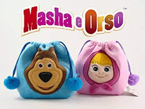 MASHA E ORSO Fantastica Sacca Plush in Peluche Disney b