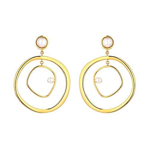 Diamonique Ohrringe für Damen, Fuchsia-Ohrringe für Frauen, Ohrstecker