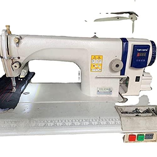 WEARRR Máquina de Coser LockStitch Máquina de Coser Industrial