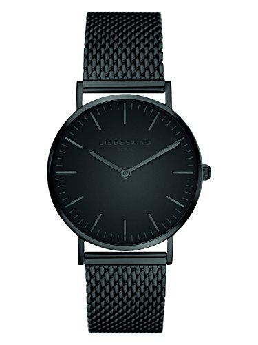 Liebeskind Berlin Damen Analog Quarz Armbanduhr mit Edelstahlarmband LT-0078-MQ