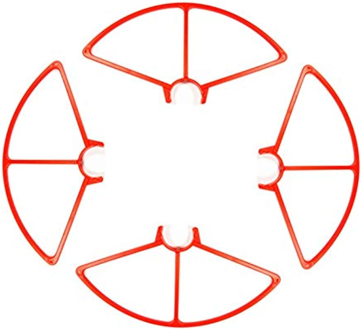 Generic 4 pcs YUNEEC Q500 Quadcopter Prop Propeller Guards Gules Predector Cover Bumpers Quick Release