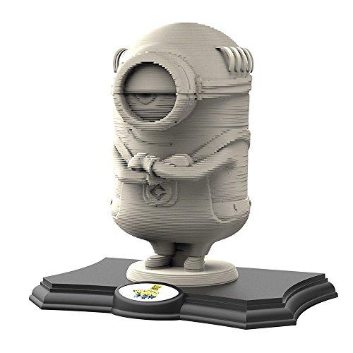 Educa Borras 17140 Despicable Me Minion 3D Sculpture Puzzle Grey