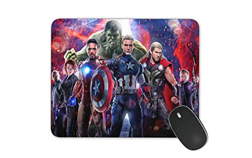 Marvel Mouse Pad Comic Mouse Pad for Kids HD Printed Mouse Pad Large Mouse Pad (Marvel)
