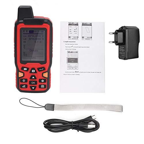 ZL-180 Medidor de área terrestre de seguimiento de navegación GPS de mano Pantalla de 2.4 pulgadas Topografía terrestre Herramienta de medición de pantalla de 100-240 V con GPS(EU Plug)