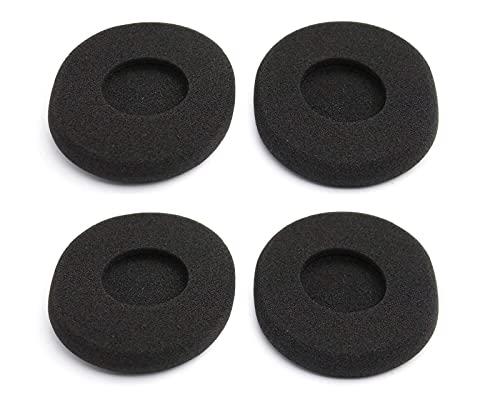 Rhinenet Ohrpolster aus Schaumstoff für Logitech H800 kabellose Kopfhörer, Hot Soft Foam, 4 Stück
