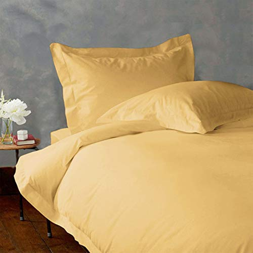 Split-King (39x80) Adjustable Bed Size Sheets Luxury Soft Heavy Egyptian Cotton 5-PCs Sheet Set Fits Mattress 28-30' Pockets, Gold Color 1800 Thread Count (Pattern : Solid)