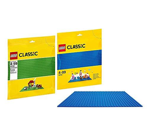 LEGO Classic 10700 - Bauplatte Classic 10714 - Blaue Bauplatte, Kreatives Spielen