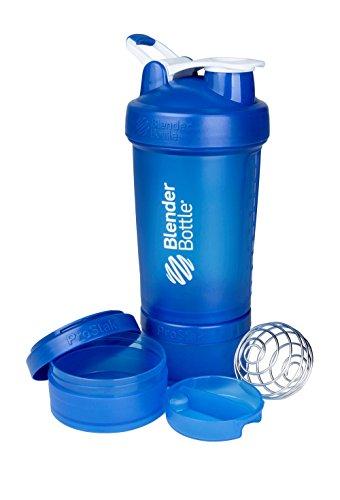 BlenderBottle ProStak - Botella de agua y mezcladora (1 x 650ml, 2...