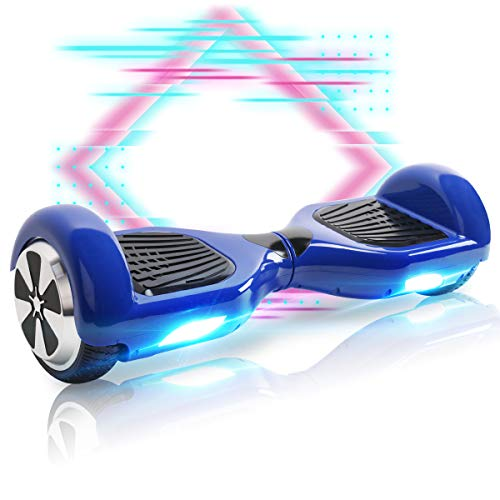 Mangoo Hoverboard 6.5 Zoll Elektroscooter Self Balancing Scooter für Kinder mit Bluetooth (BL)