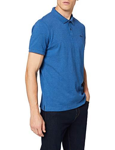 s.Oliver Herren 03.899.35 Poloshirt, Blau (Postcard Blue Melange 54w0), M