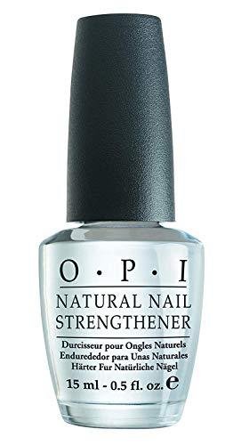 OPI Natural Nail Strengthener – Endurecedor para Uñas Naturales, Efecto Manicura Profesional - 15 ml