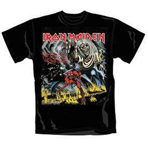Number of The Beast - Camiseta con Manga Corta para Hombre