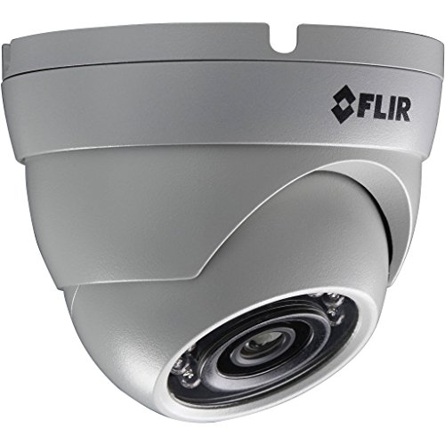 Digimerge PE133E FLIR's 3MP Fixed HD IP Housings 25FPS IR Night Vision Mini Dome Camera, White Colorado