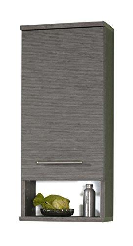 Schildmeyer Hängeschrank 117440 Isola, 30x20.5x71 cm, esche grau Dekor