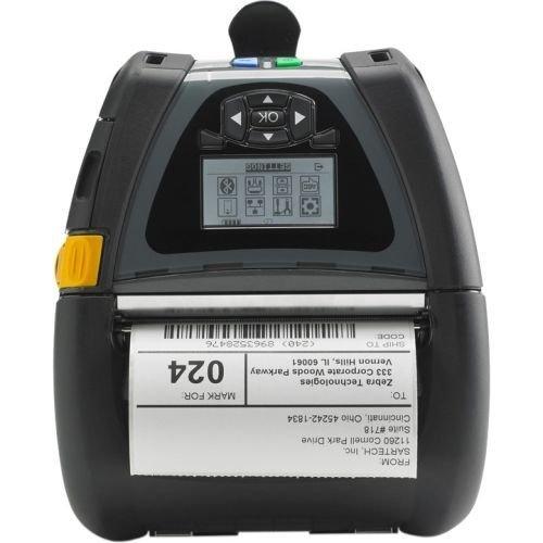 ZEBRA Label Printer - Thermal Paper - Roll (4.4 in) - 203 dpi - up to 240.9 inch/min - USB, Serial, Wi-Fi(n), Bluetooth 3.0 - Tear bar