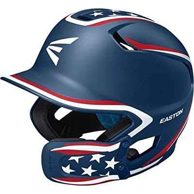 EASTON Z5 2.0 Batting Helmet with Universal Jaw Guard
