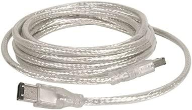 IOGear IEEE 1394 6-Pin to 6-Pin Premium Hi-Speed Cable, 6 Feet. G2L13946-6