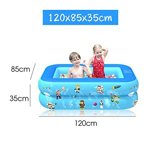 DOOS, Piscina Piscina infantil para niños Piscina de burbujas cuadrada Fondo inflable Artículos de natación Juegos para niños Piscina Piscina para niños
