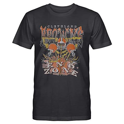 Cleve-Land Browns END Zone T-Shirt Vintage 1995 - Vintage 1995 (Design 1 - S-5Xl)