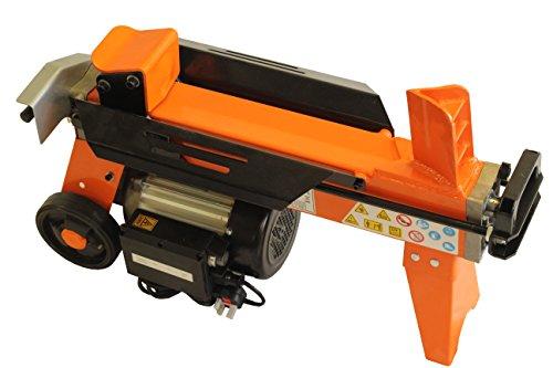 5 toneladas motor del cortador de madera de madera hidráulico separador de registro eléctrico de 2200 vatios FM8