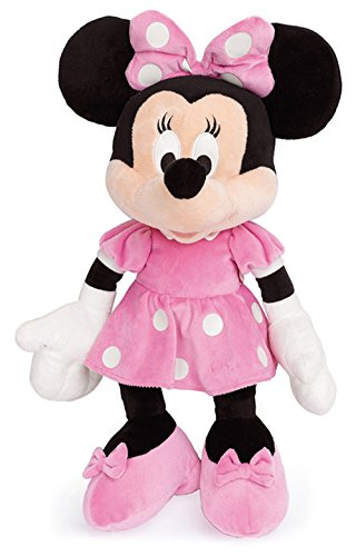 Famosa Softies- Minnie Mouse Peluche Disney, 61 cm (