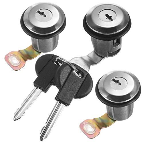Barril de Bloqueo Conjunto de Cerradura de Puerta Conjunto Compatible para Partner Xsara Berlingo 252522 9170.G3 9170.CW