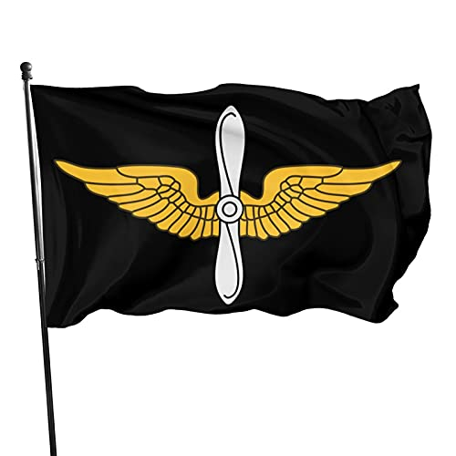 Yilimi Hui United States Army Aviation Branch Double Sided Printing 3x5 Foot Flags Outdoor Double Sided 3x5 Ft Flags Best Military Flag is Not Damaged Durable