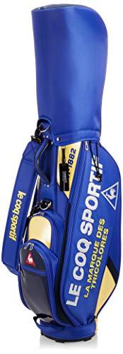 ルコックスポルティフゴルフ キャディバッグ 軽量 9.0型 47インチ対応 3.0kg メンズ QQBPJJ08 BL00(ブルー) F