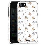 DeinDesign Coque Compatible avec Apple iPhone 5s Coque renforcée Coque Antichoc Winnie l'ourson...
