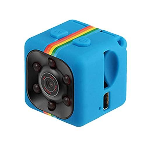 Cámara HD 1080P Sensor de movimiento Visión nocturna SQ11 Mini videocámara Micro DVR Camara Sport DV Video Recorder Azul