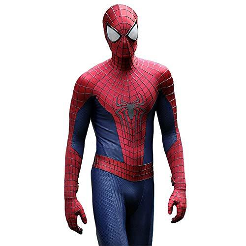 Le Cosplay Costume Spiderman Incroyable Spiderman Costume DéGuisement Superhero Combat Uniform NoëL Mascarade Halloween Props Enfants Adultes Bodysuit Zentai,Kids-M
