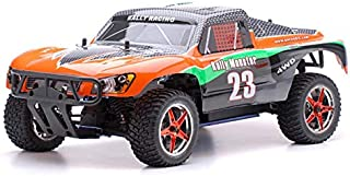 Exceed-RC 1/10 2.4Ghz Short Course Monster Nitro Gas Powered RTR Off Road 4WD Truck Carbon Orange
